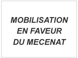 Image reprenant le titre : Mobilisation en faveur du mécénat