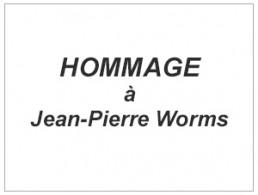 Image reprenant le titre : Hommage à JP Worms