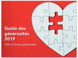 Image du Guide des générosités 2019