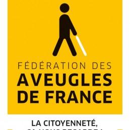 logo de la Fédération des Aveugles de France