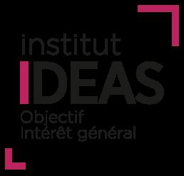 Logo institut IDEAS sa signature : Objectif Intérêt général