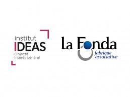 2 Logos : de la Fonda et de IDEAS