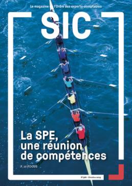 couverture du magazine SIC N°388 (octobre 2019)