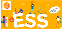 Image mois de l'ESS avec logo de l'APEC