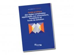 Couverture du Guide pratique des règles comptables applicables aux associations, fondations et fonds de dotation
