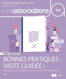 Couverture de la revue Juris Associations :