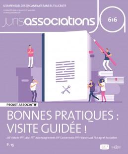 Couverture de la revue Juris Associations :