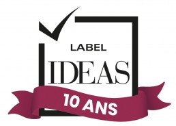 Logo Label IDEAS 10 ans
