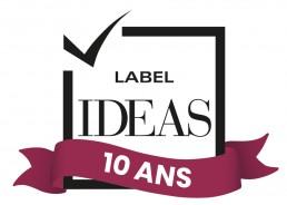 Logo Label IDEAS 10 ans