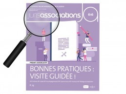Loupe sur la couverture du Juris associations n'616