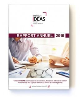 image de la couverture du Rapport annuel IDEAS de 2019