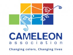 logo association caméléon : changing colors, changing lives
