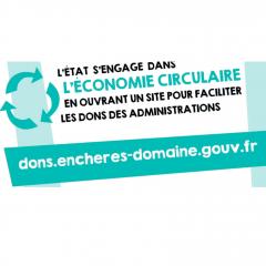 L'État s'engage : dons de biens mobiliers