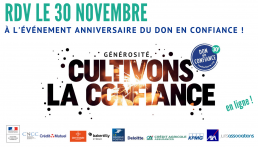 30 novembre : Anniversaire du Don en Confiance