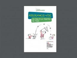 """Couverture du Guide : """"Assurance vie : un don à la portée de tous"""""""