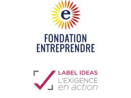 La fondation Entreprendre obtient pour le 2e Label IDEAS