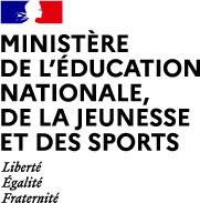 logo Ministere de l'éducation nationale, de la jeunesse et des sports