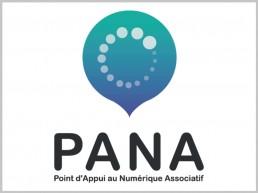 Logo du Programme PANA (Point d'Appui au Numérique Associatif)