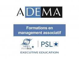 L'ADEMA : un programme de formations en management associatif