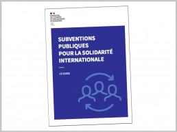 Guide des subventions pour la solidarité internationale